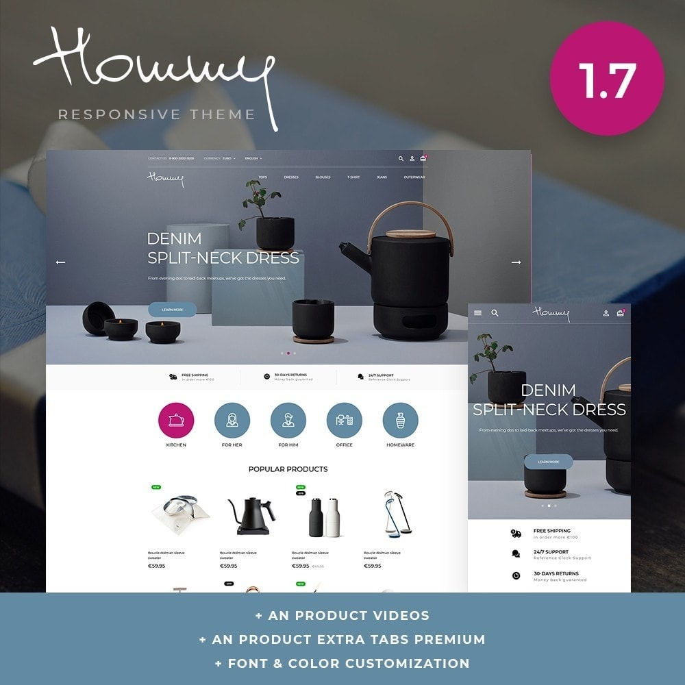 theme - Home & Garden - Hommy - 1