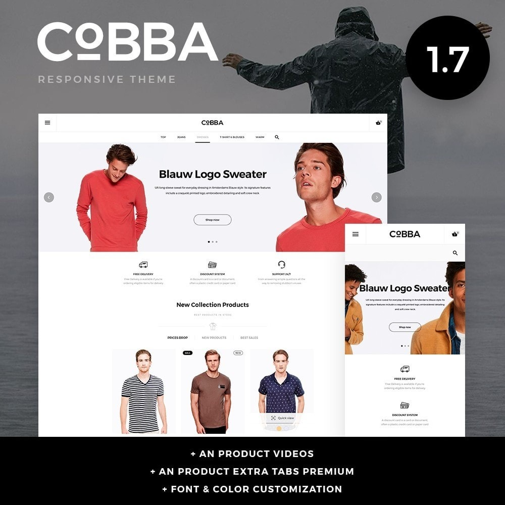 theme - Mode & Chaussures - Cobba Men's Wear - 1