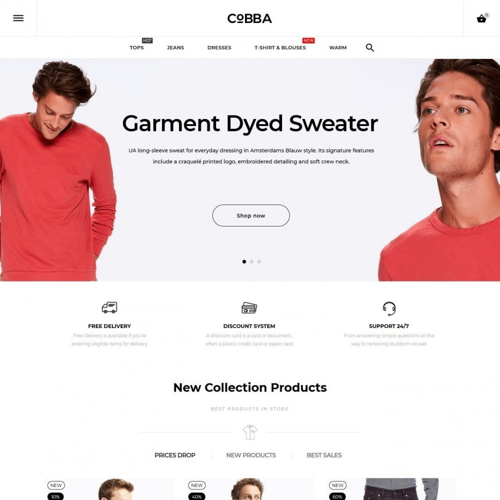 theme - Mode & Chaussures - Cobba Men's Wear - 2