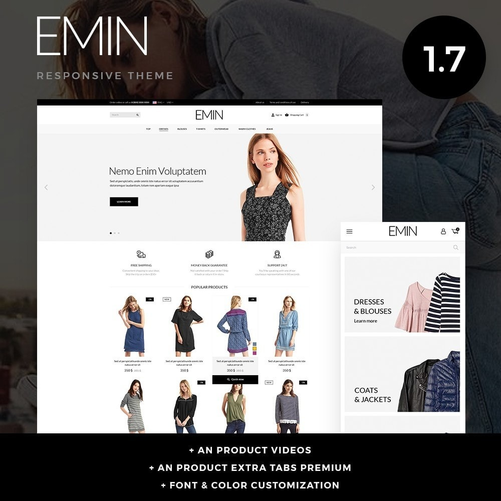 theme - Mode & Schuhe - Emin Fashion Store - 1