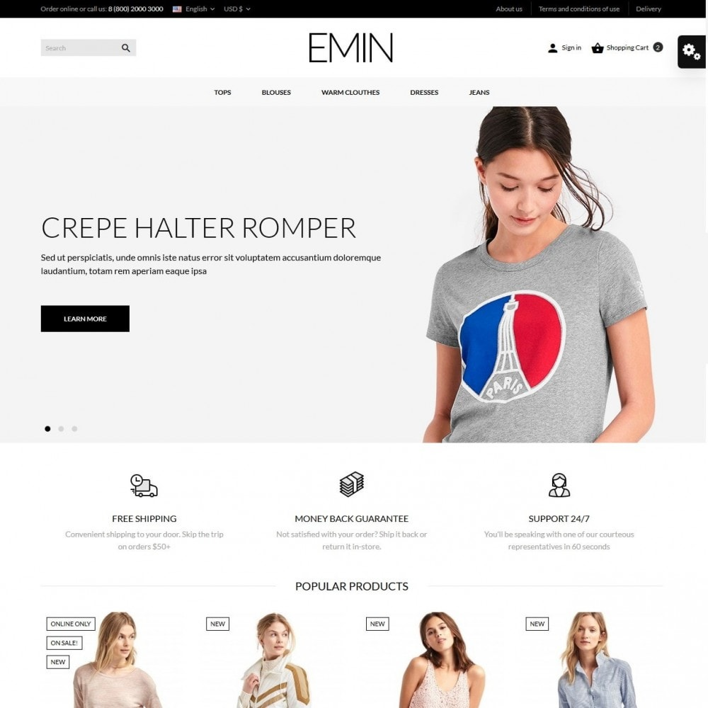 theme - Mode & Schuhe - Emin Fashion Store - 2