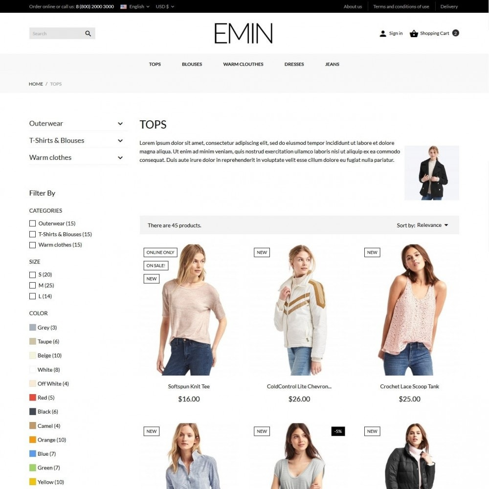 theme - Mode & Schuhe - Emin Fashion Store - 6