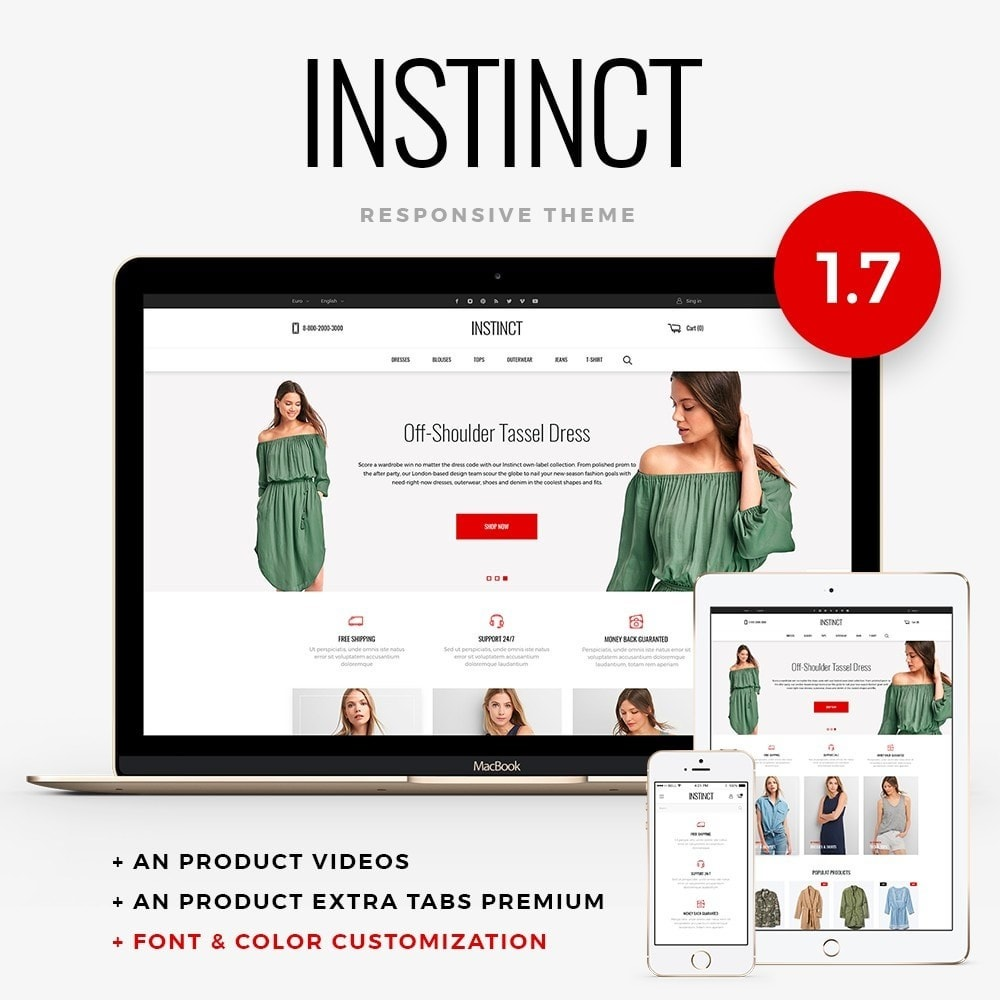 theme - Moda & Obuwie - Instinct Fashion Store - 1