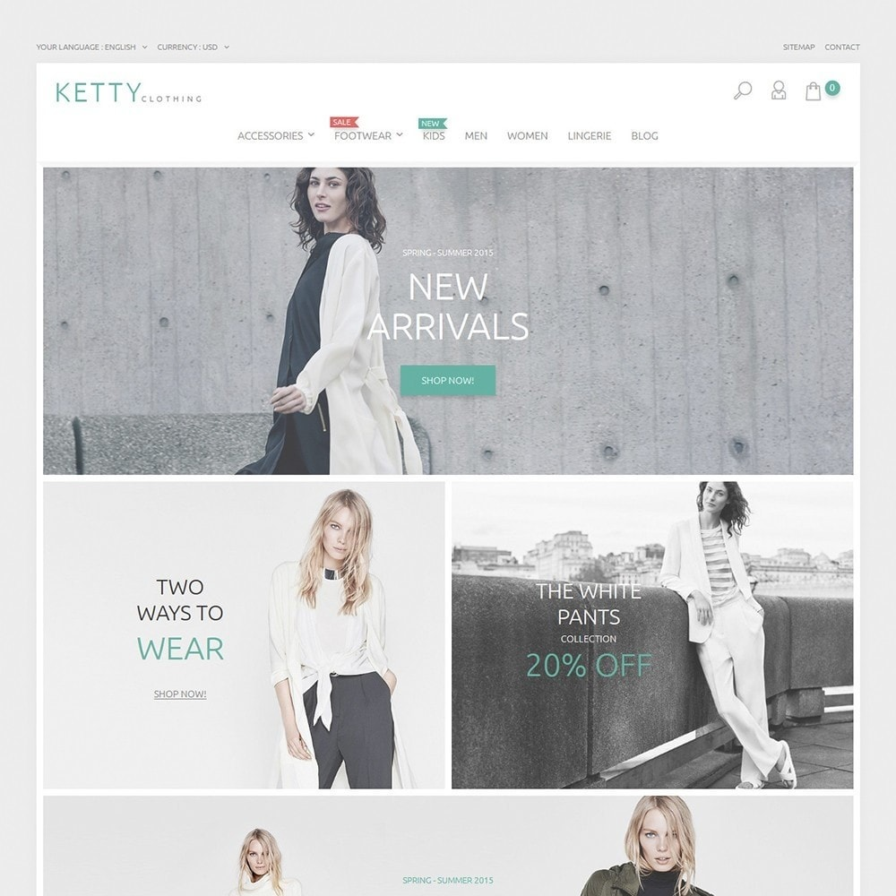 theme - Fashion & Shoes - Ketty Clothing - 2