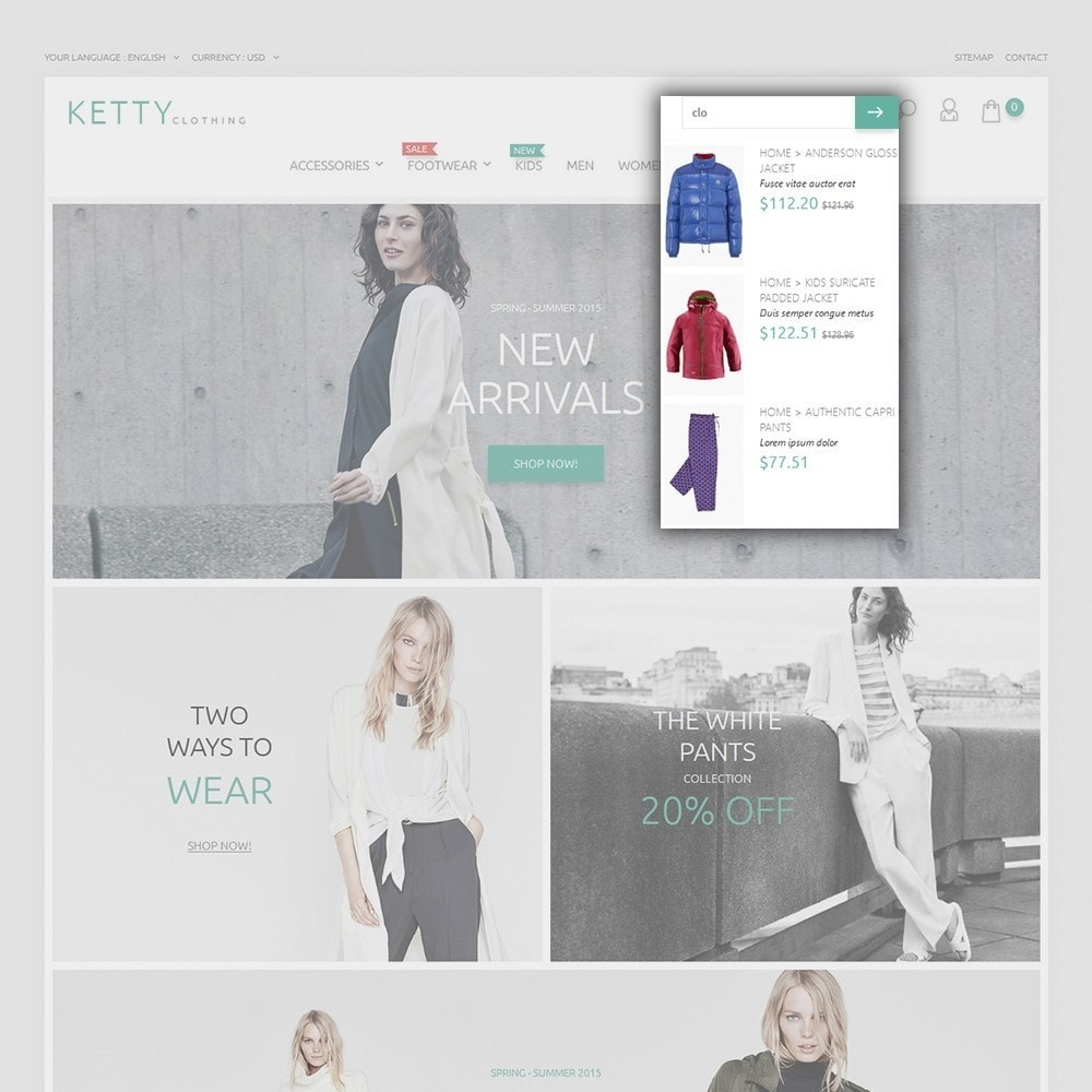 theme - Fashion & Shoes - Ketty Clothing - 5