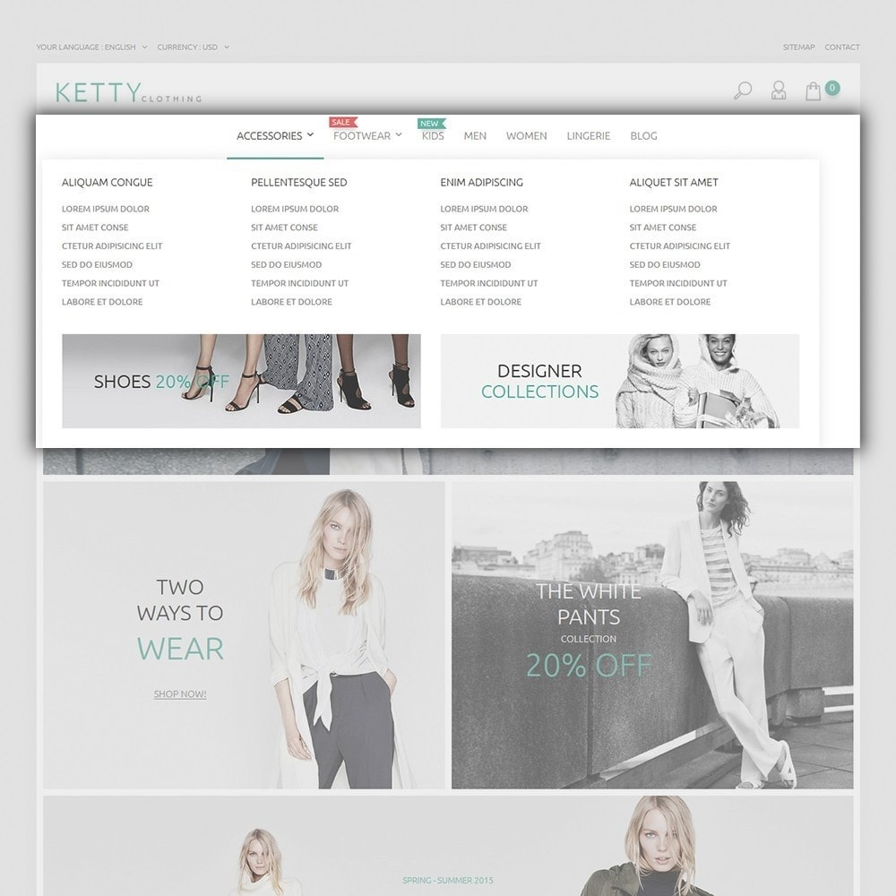 theme - Mode & Chaussures - Ketty Clothing - 4