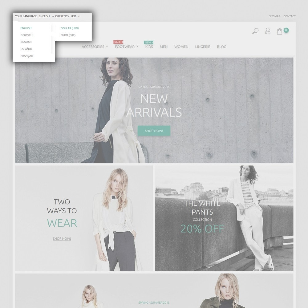 theme - Mode & Chaussures - Ketty Clothing - 6
