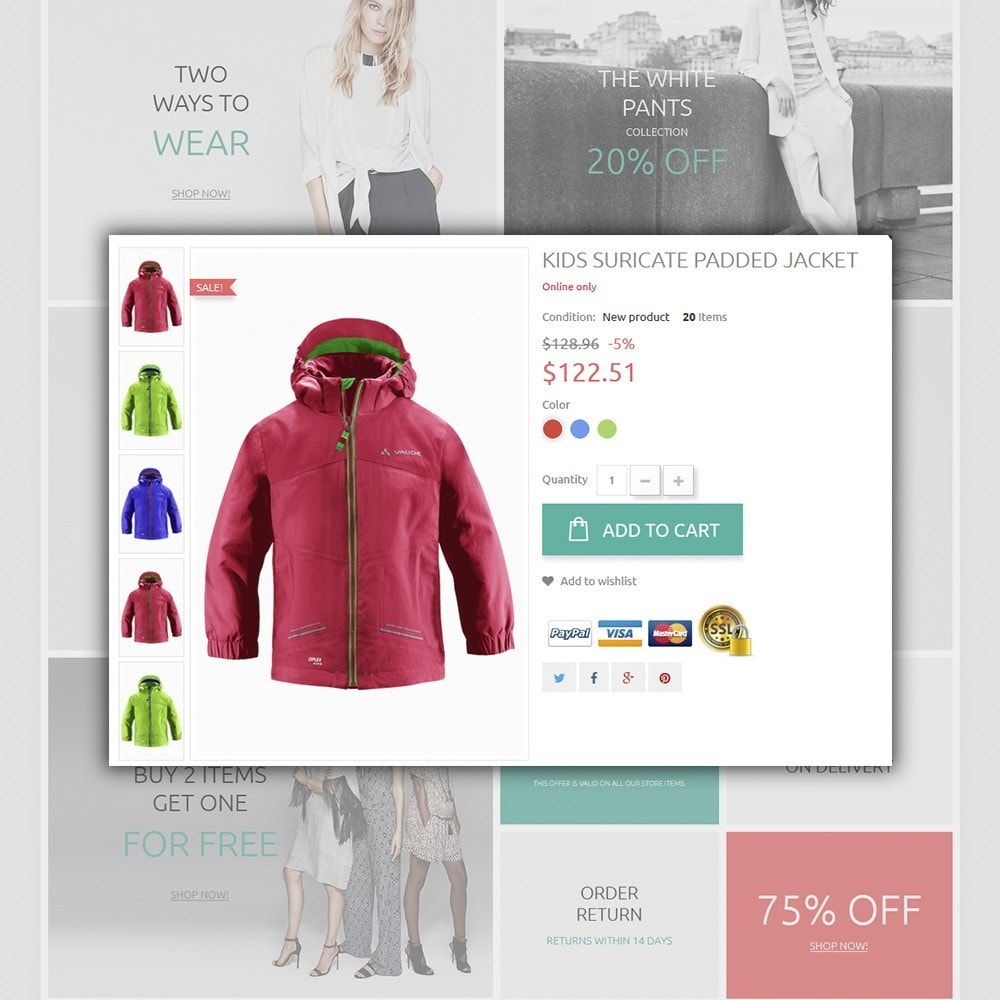 theme - Moda & Calzature - Ketty Clothing - 2