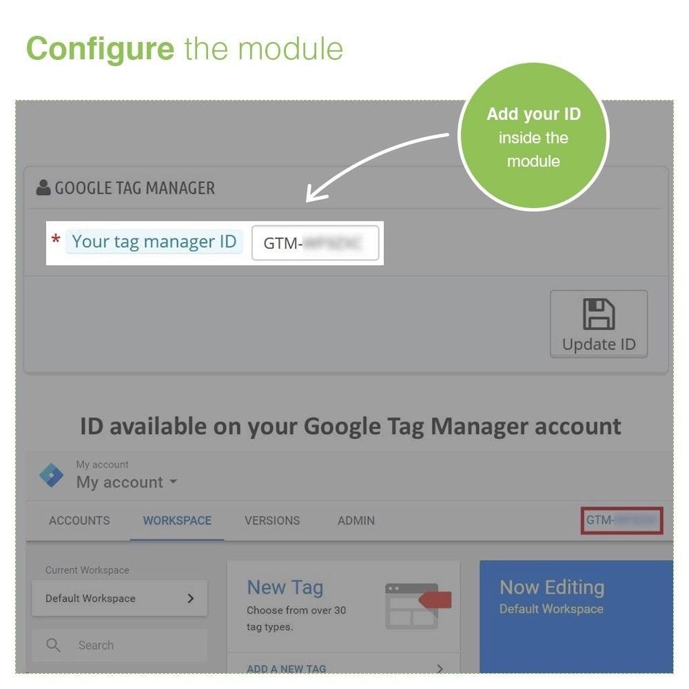 module - Analysen & Statistiken - Google Tag Manager Integration - PRO - 2