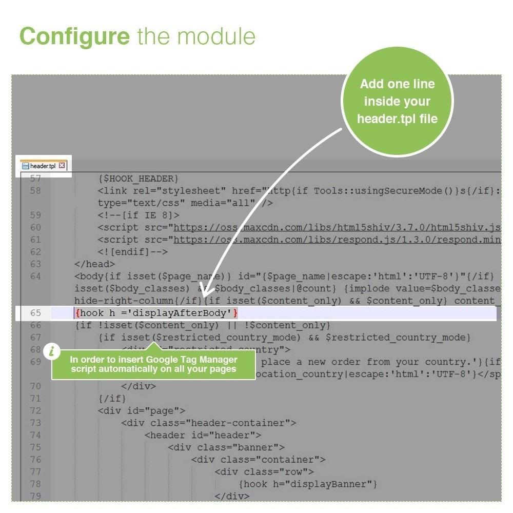 module - Analysen & Statistiken - Google Tag Manager Integration - PRO - 3