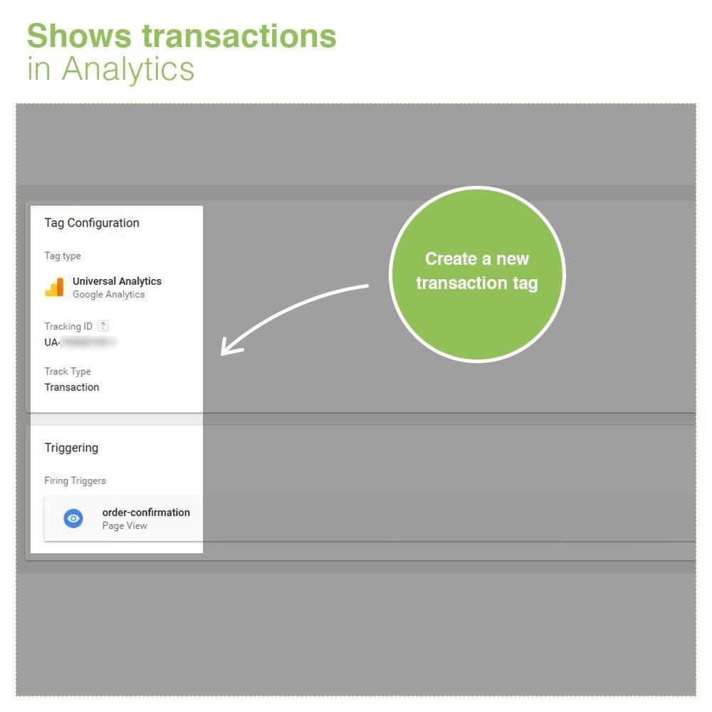 module - Analysen & Statistiken - Google Tag Manager Integration - PRO - 6