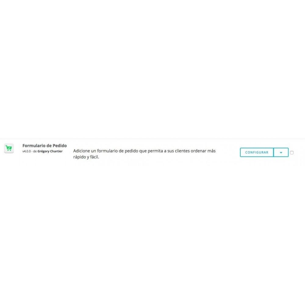 module - Inscripción y Proceso del pedido - Formulario de pedido - 8