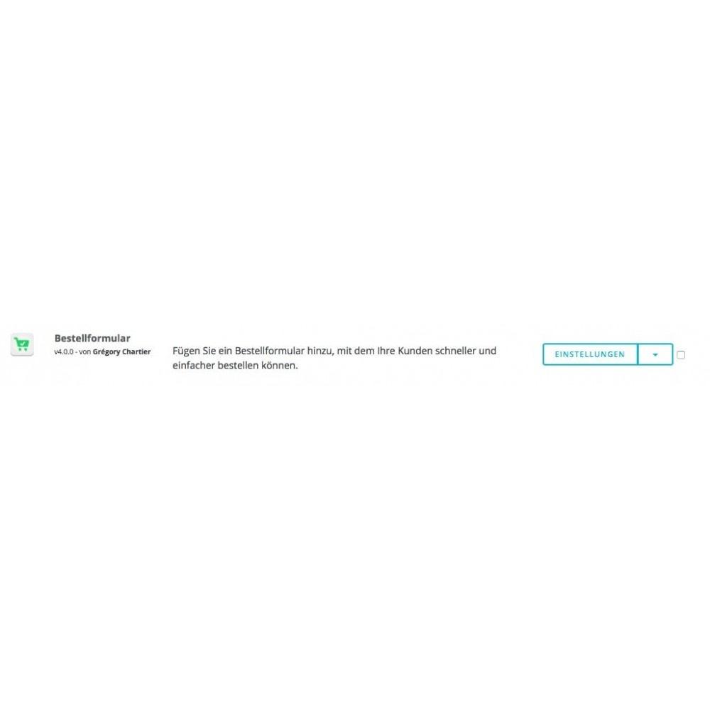 module - Anmeldung und Bestellvorgang - Bestellformular - 8