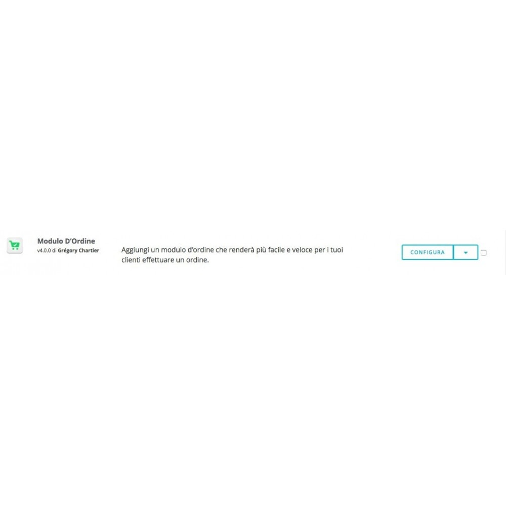 module - Iscrizione e Processo di ordinazione - Modulo D'Ordine - 8