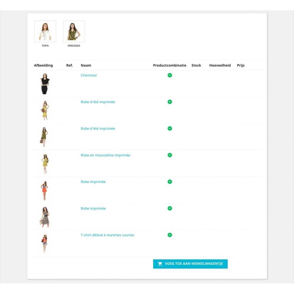 module - Registratie en Proces van bestellingen - Bestellingsformulier - 1