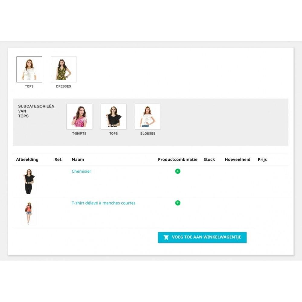 module - Registratie en Proces van bestellingen - Bestellingsformulier - 3
