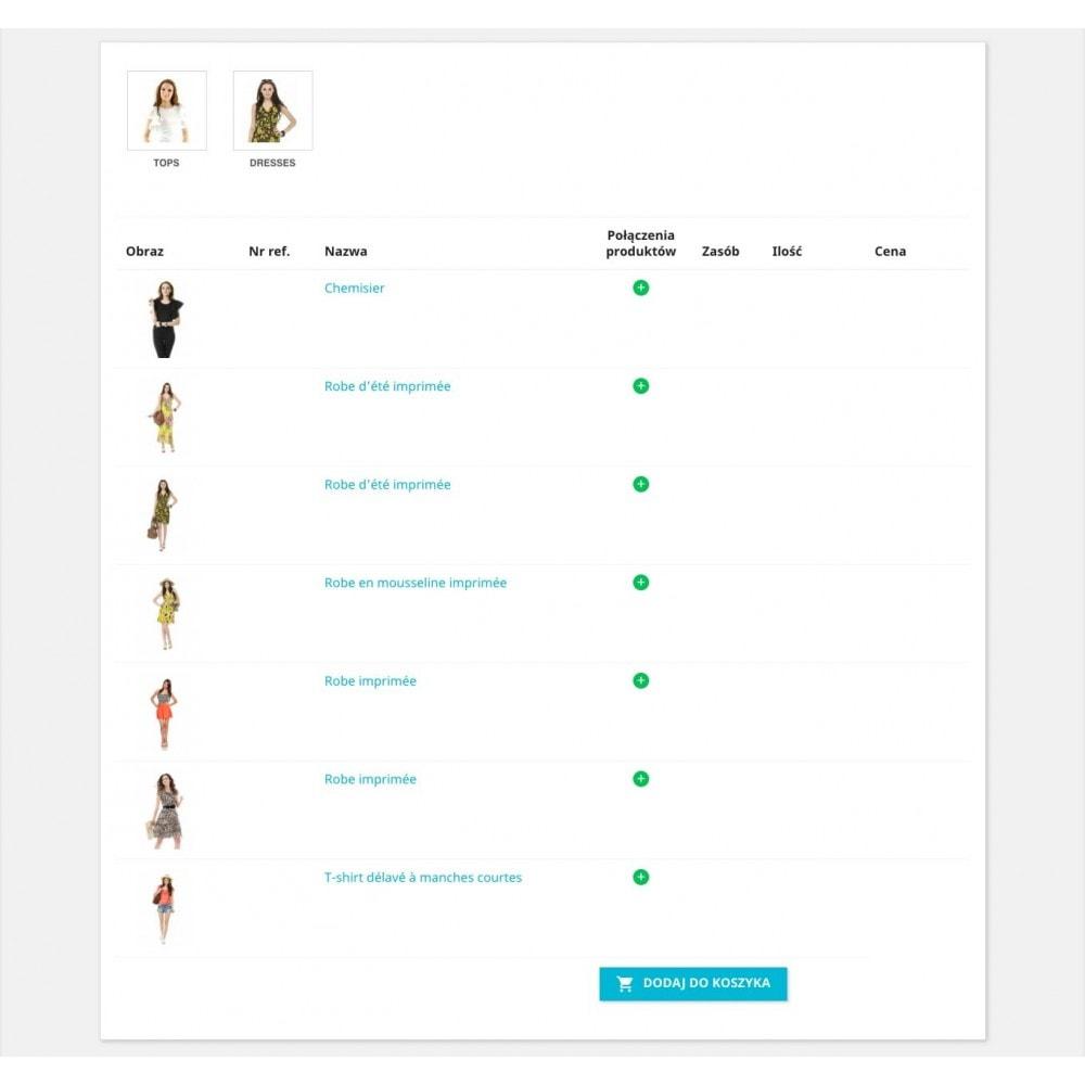 module - Procedury składania zamówień - Formularz zamówienia - 1