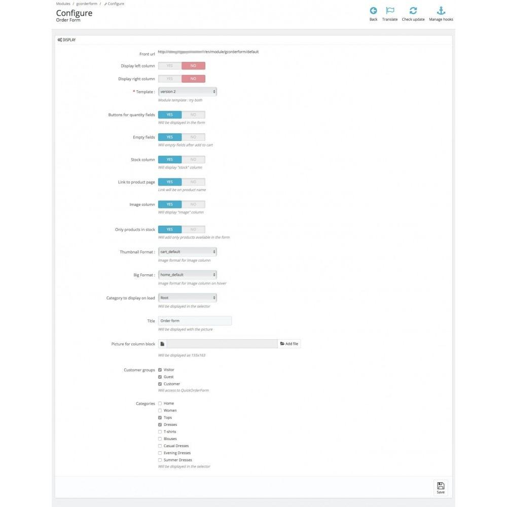 module - Registration & Ordering Process - Order Form - 6