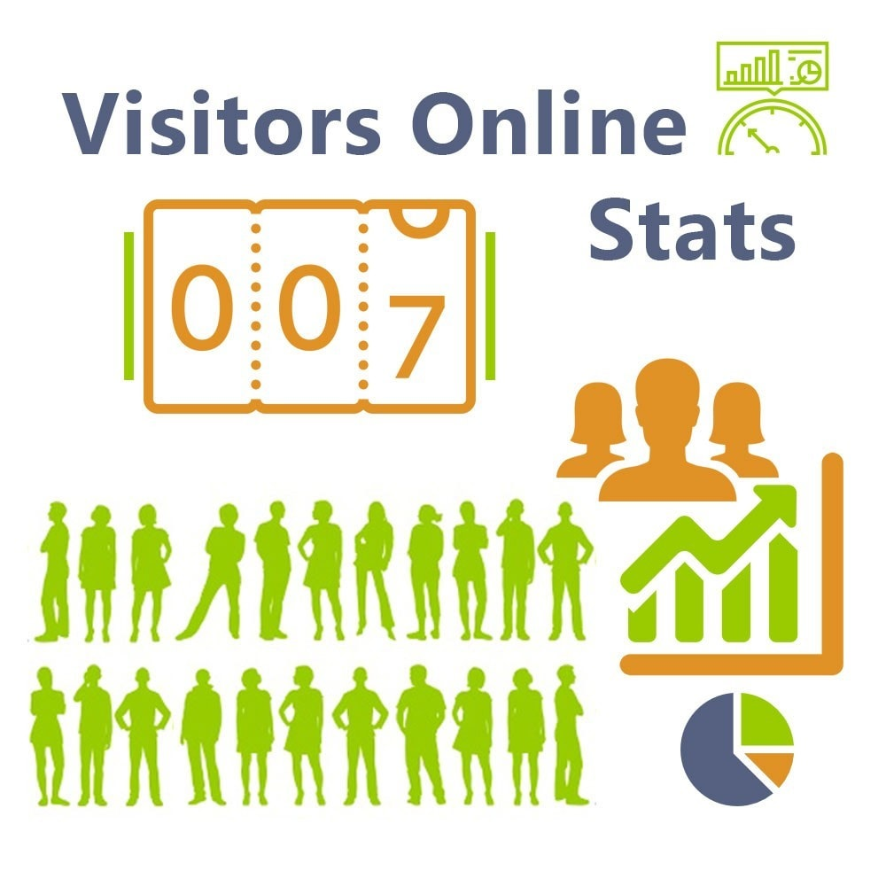 module - Analyses & Statistiques - Visitors Online Stats - 1