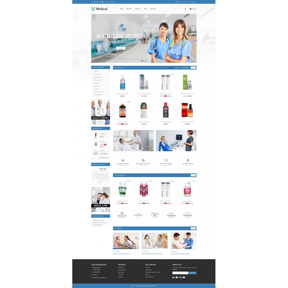 theme - Health & Beauty - Medical Store - 2
