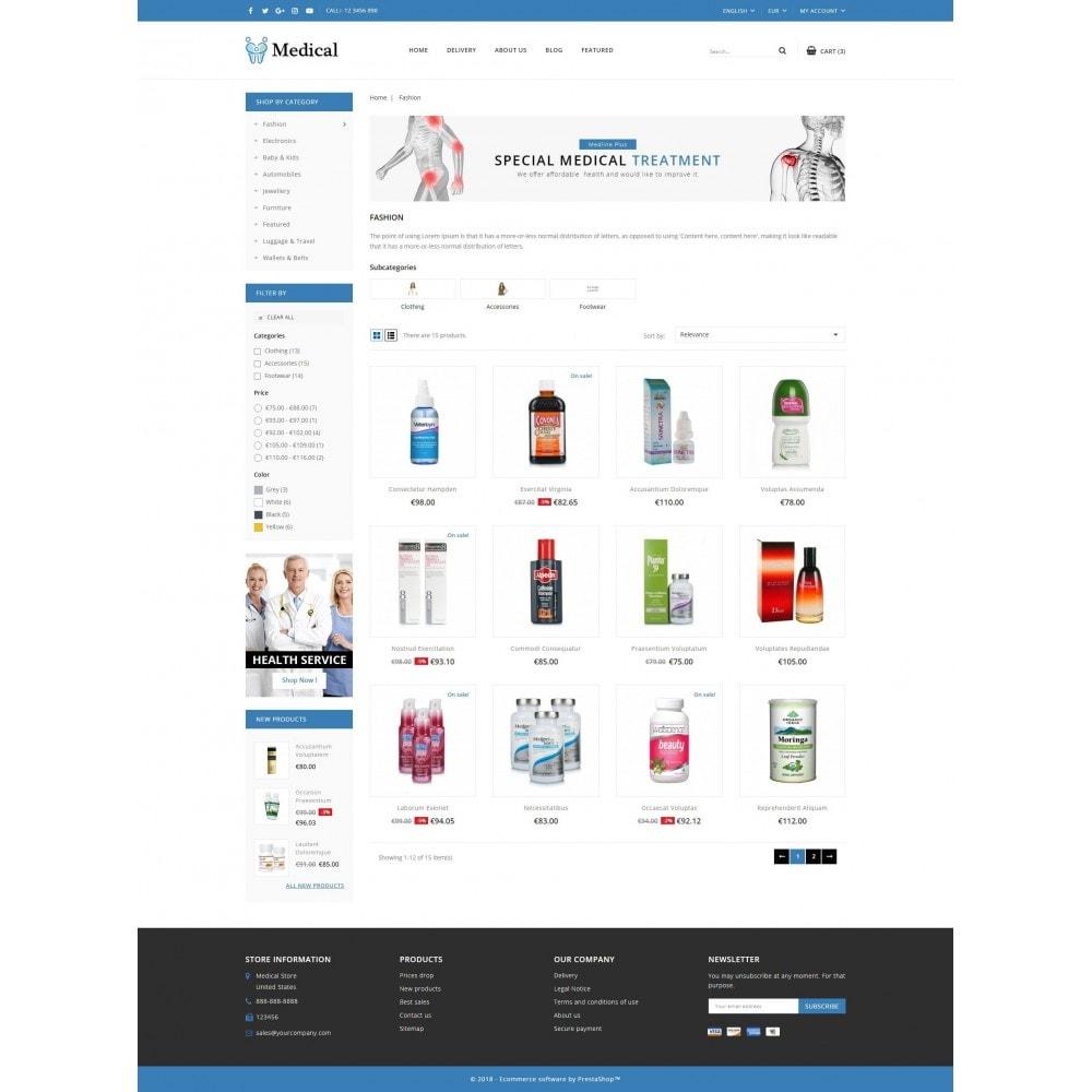 theme - Salud y Belleza - Medical Store - 3
