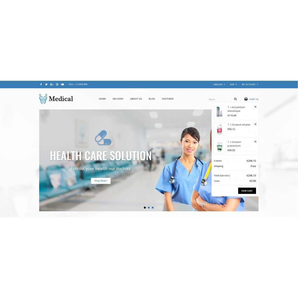 theme - Health & Beauty - Medical Store - 6