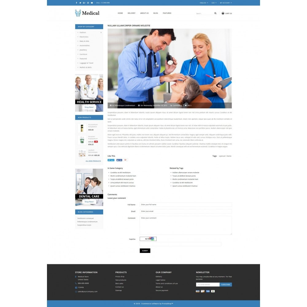 theme - Health & Beauty - Medical Store - 9
