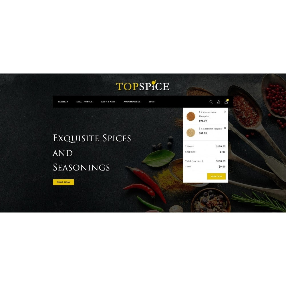 theme - Lebensmittel & Restaurants - Top Spice Store - 8