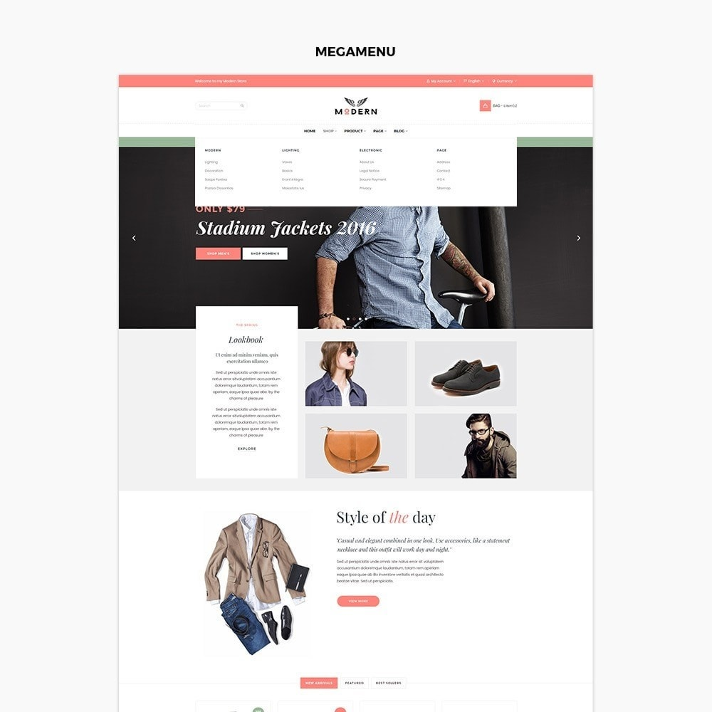 theme - Fashion & Shoes - Clothes store - 2