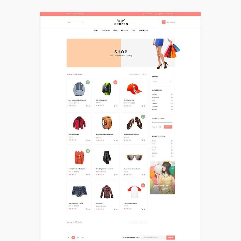 theme - Fashion & Shoes - Clothes store - 3
