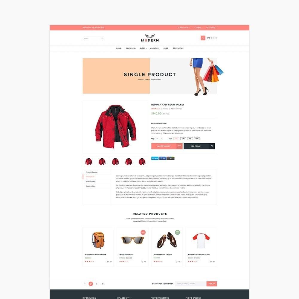 theme - Fashion & Shoes - Clothes store - 4