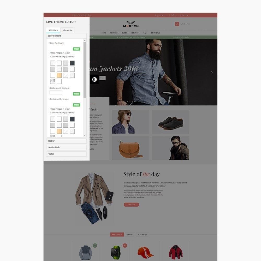 theme - Fashion & Shoes - Clothes store - 5
