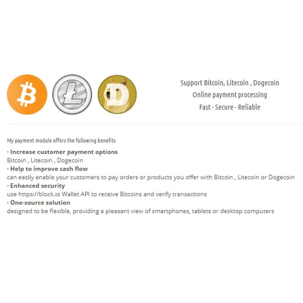 module - Альтернативных способов оплаты - Bitcoin Litecoin Dogcoin Payment - 1