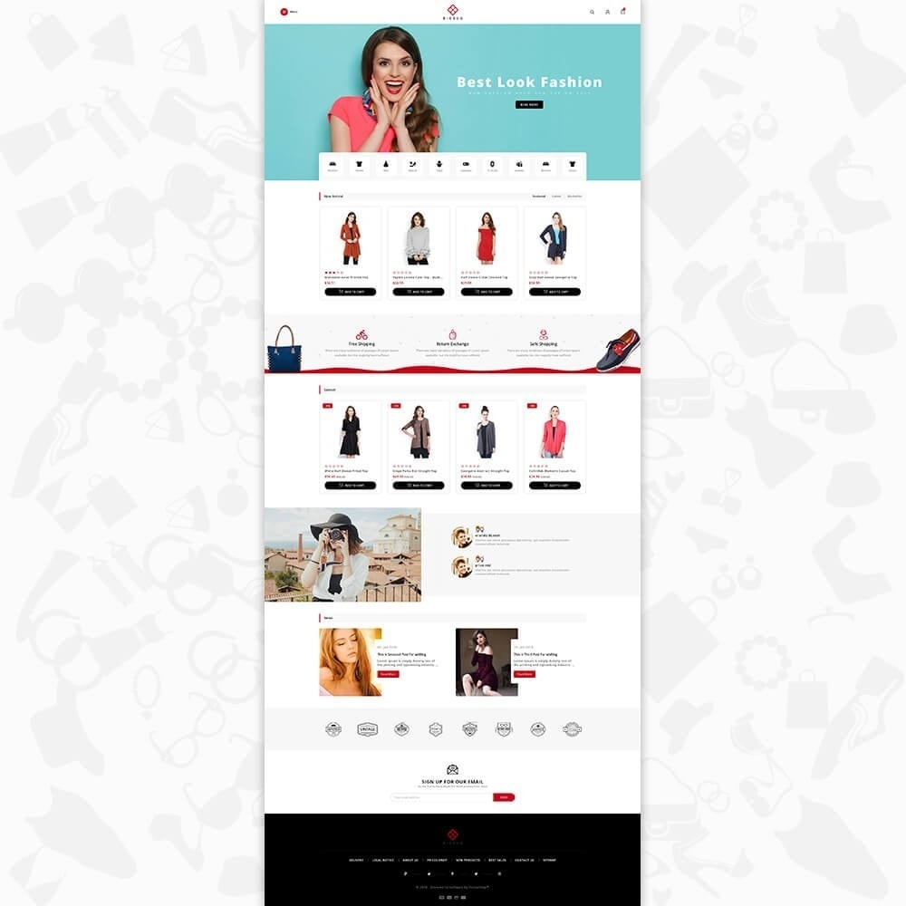 theme - Mode & Chaussures - BIGBUG - The Fashion Store - 2