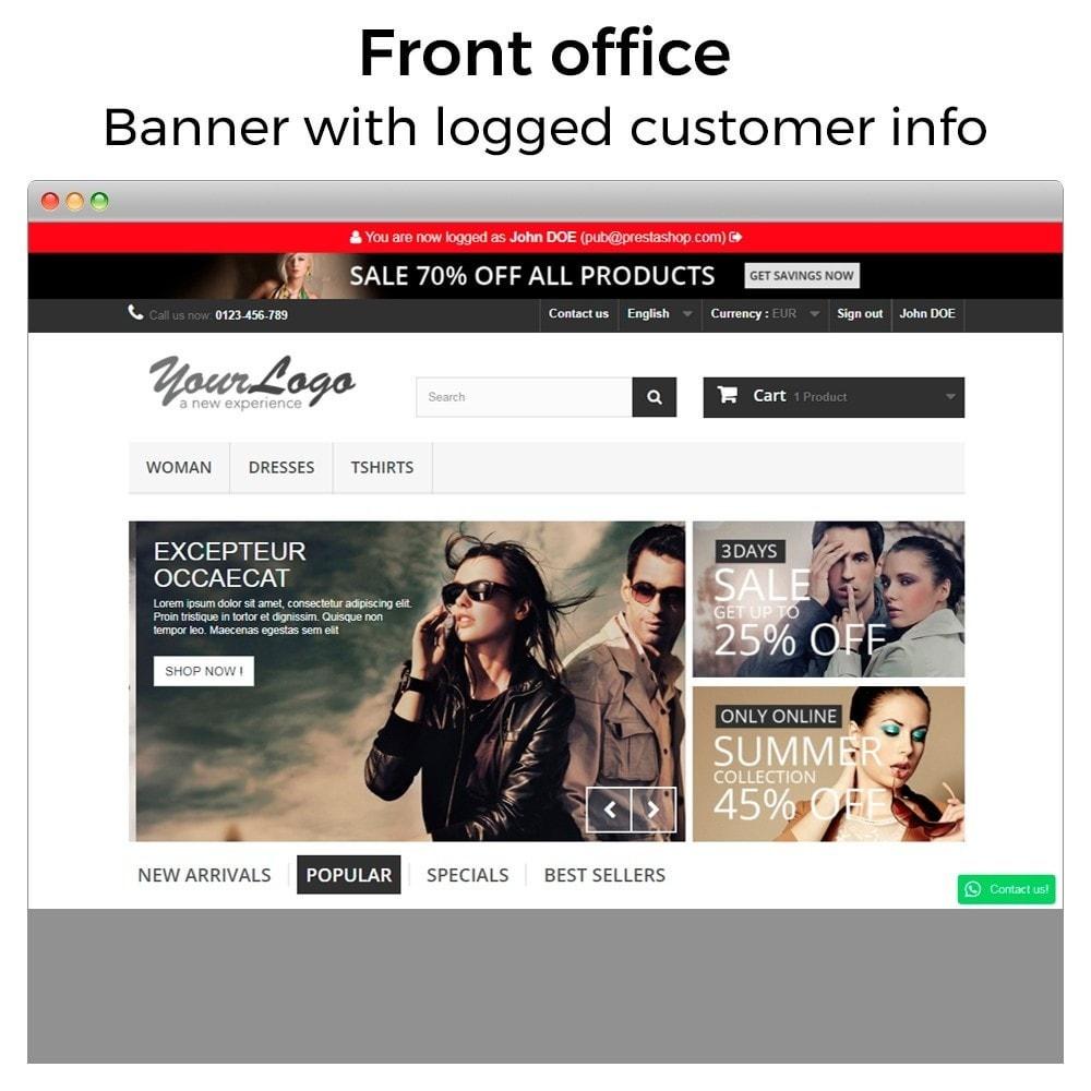 module - Klantenservice - Super User - Log in as customer - 6