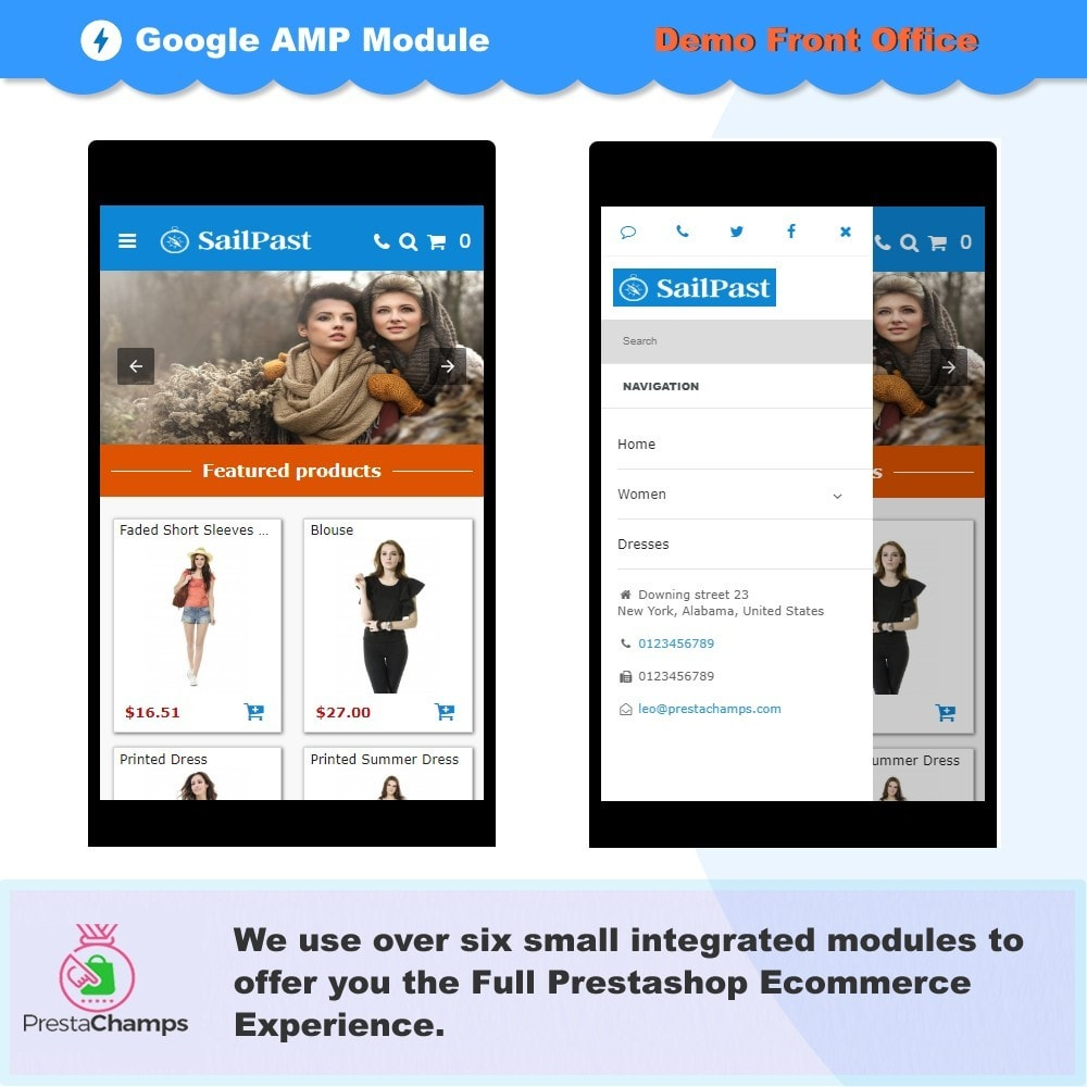 module - Website Performance - PROFESSIONAL AMP PAGES - ACCELERATED MOBILE PAGES - 2