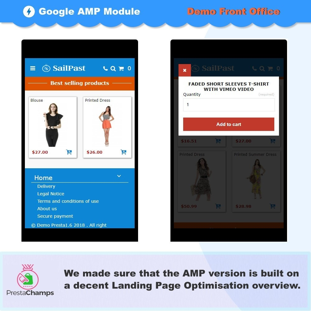 module - Website Performance - PROFESSIONAL AMP PAGES - ACCELERATED MOBILE PAGES - 3