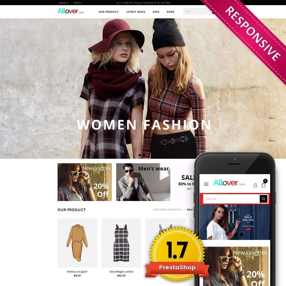 theme - Moda & Calzature - Allover Fashion Store - 1