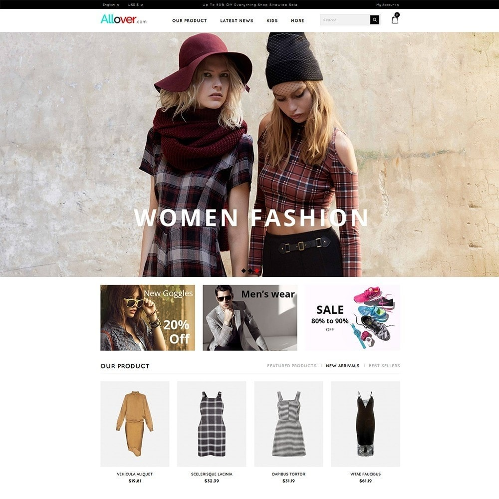 theme - Moda & Calzature - Allover Fashion Store - 2