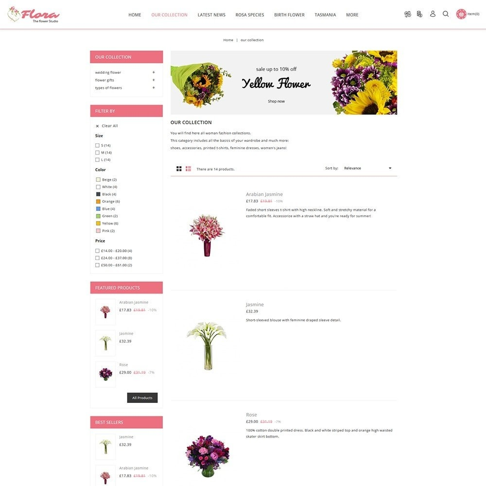 theme - Gifts, Flowers & Celebrations - Flora Flower Shop - 5