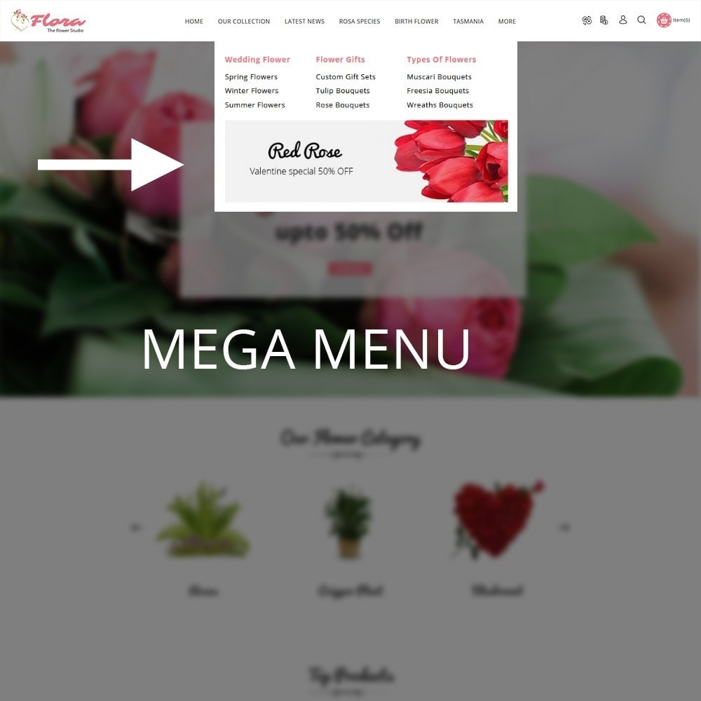 theme - Gifts, Flowers & Celebrations - Flora Flower Shop - 9
