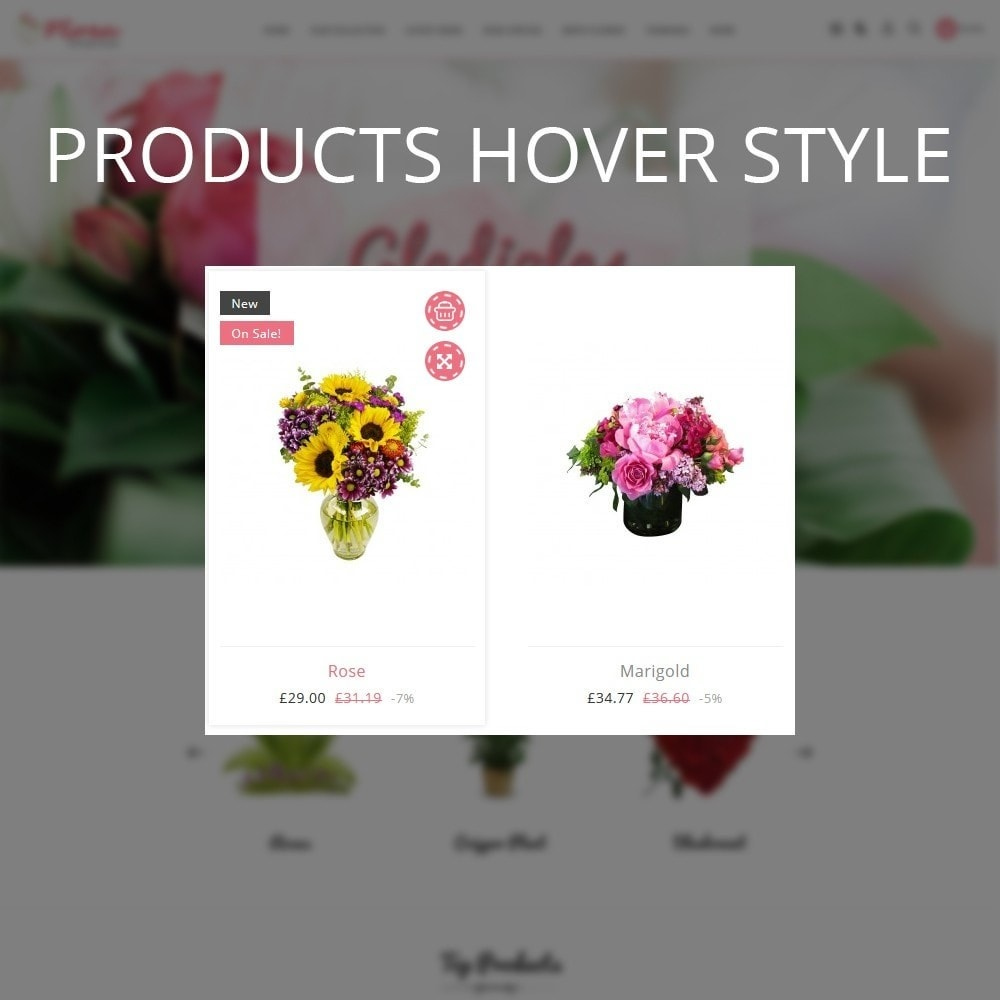 theme - Gifts, Flowers & Celebrations - Flora Flower Shop - 11