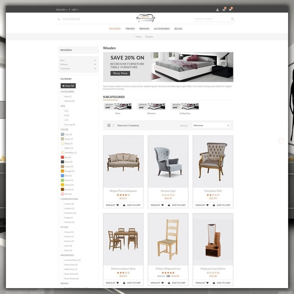 theme - Heim & Garten - Furniture Shop - 4