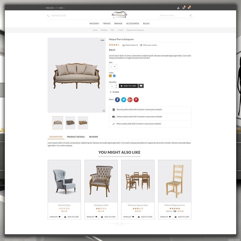 theme - Heim & Garten - Furniture Shop - 6