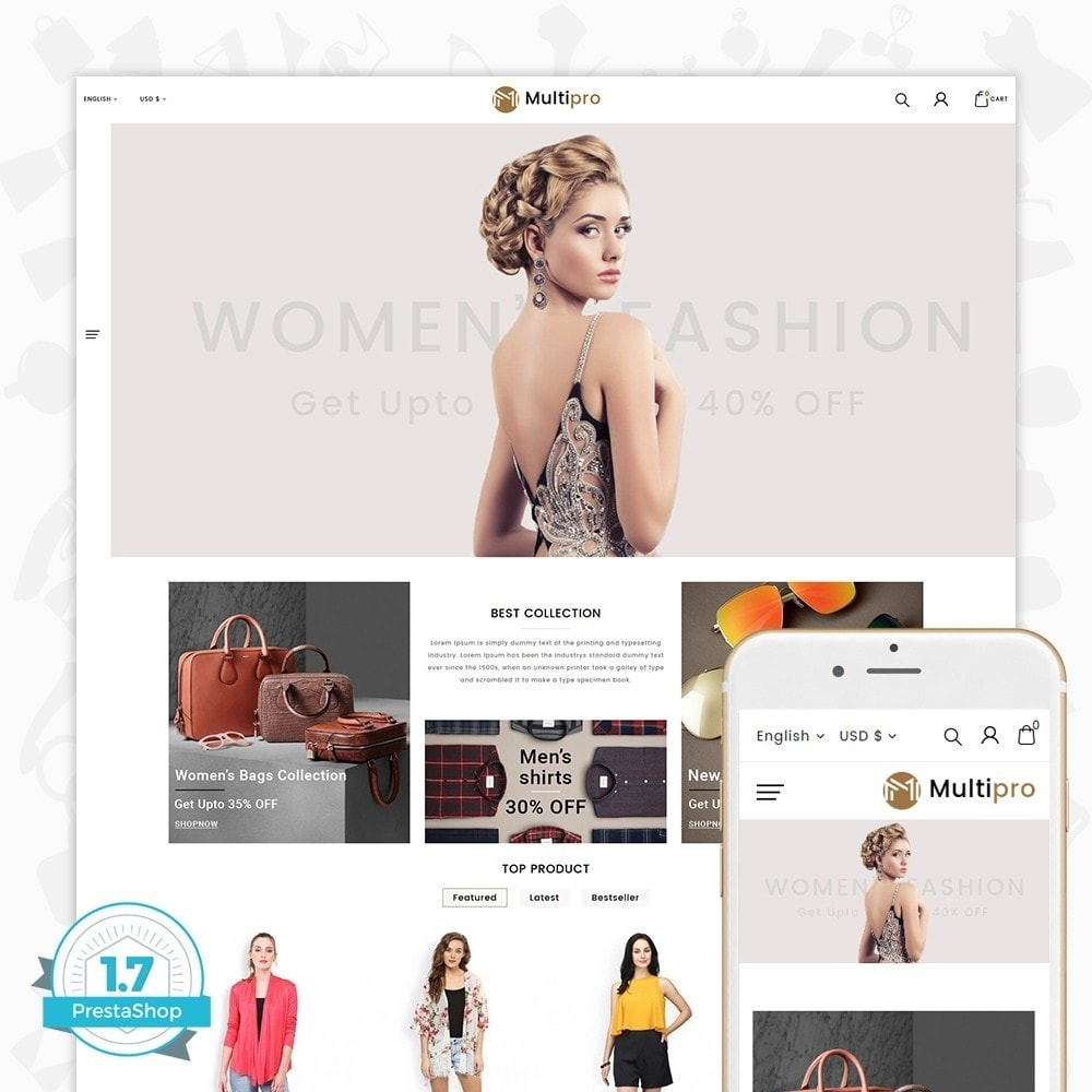 theme - Мода и обувь - Fashion MultiPro - 1
