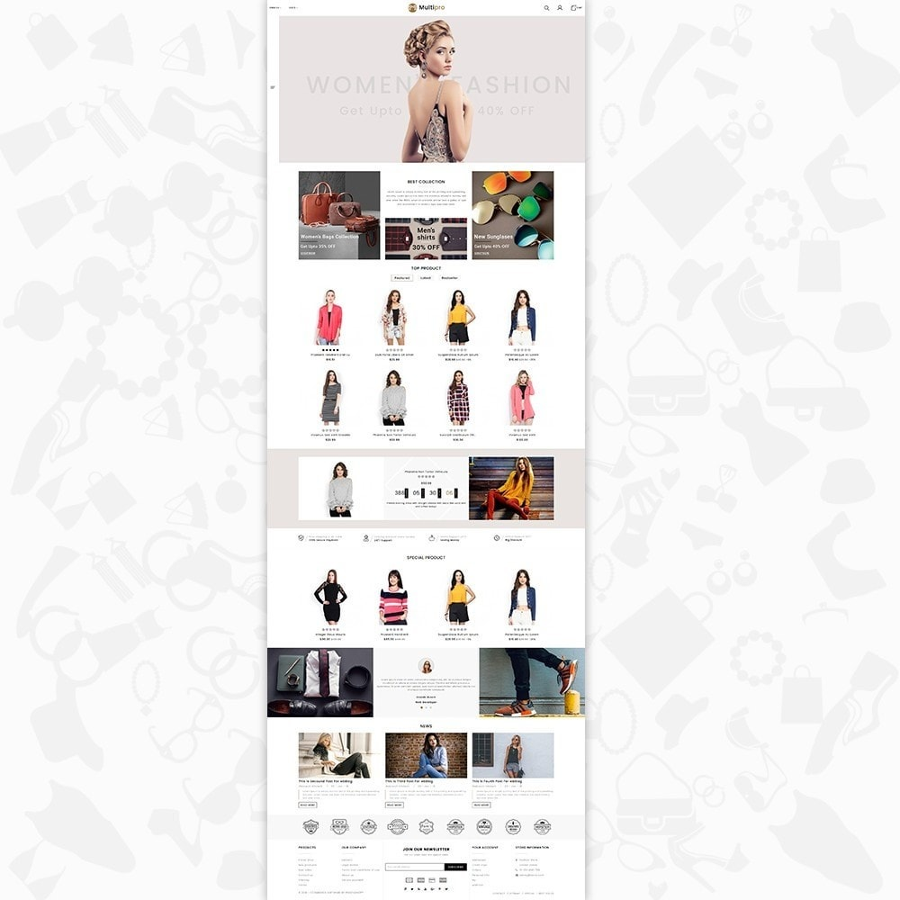 theme - Mode & Chaussures - Fashion MultiPro - 2