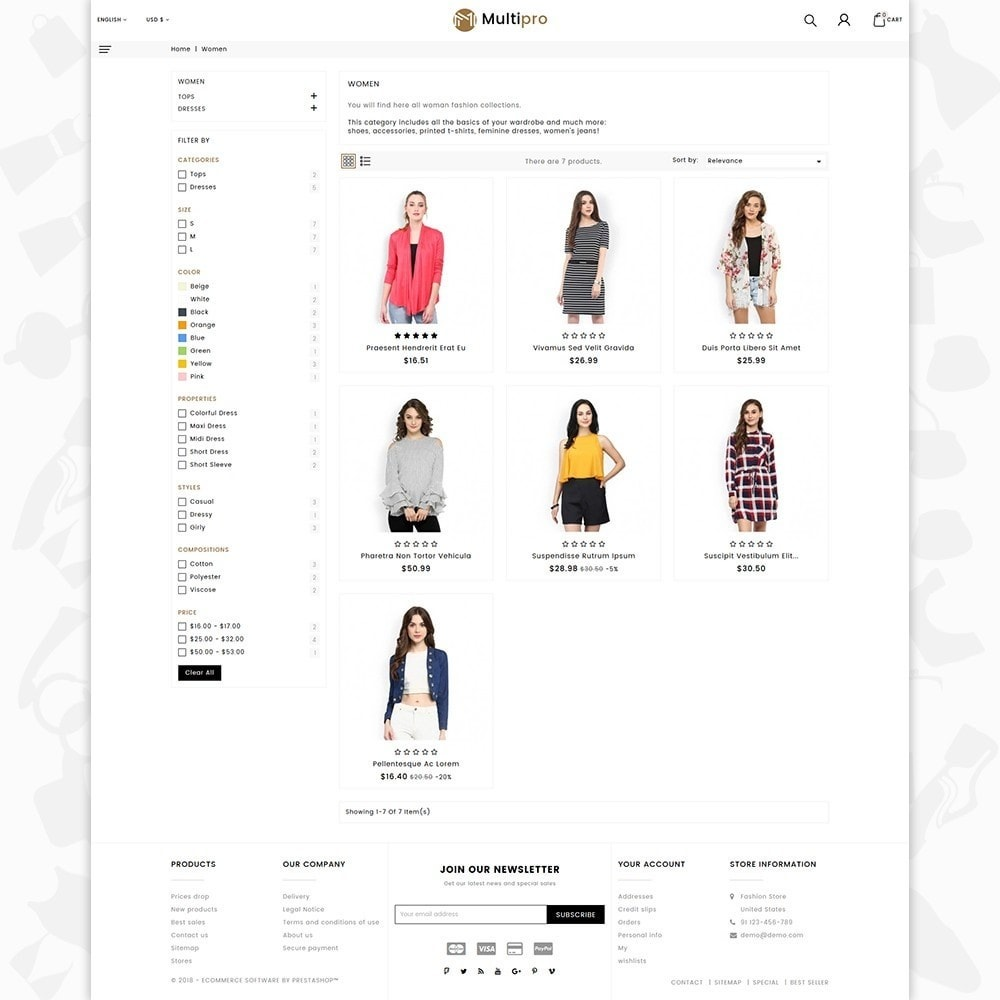 theme - Мода и обувь - Fashion MultiPro - 3