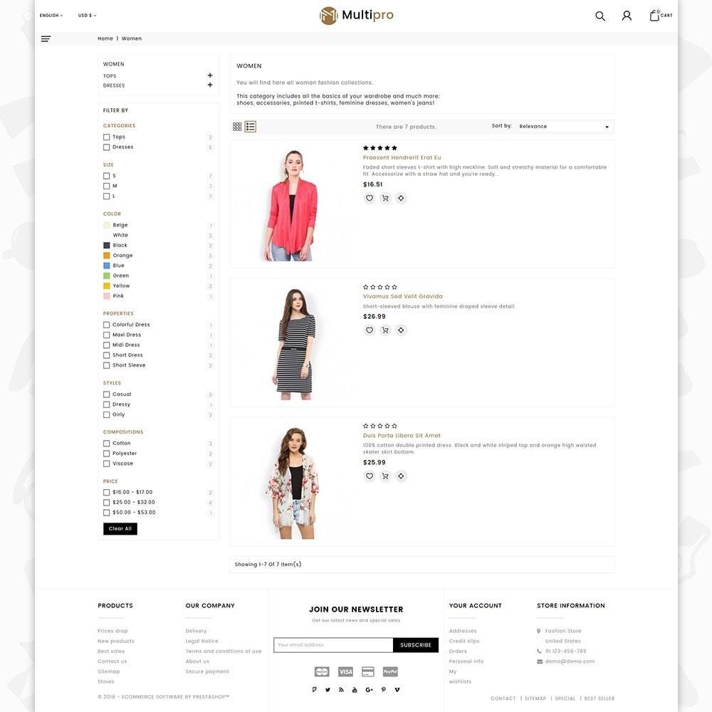 theme - Мода и обувь - Fashion MultiPro - 4