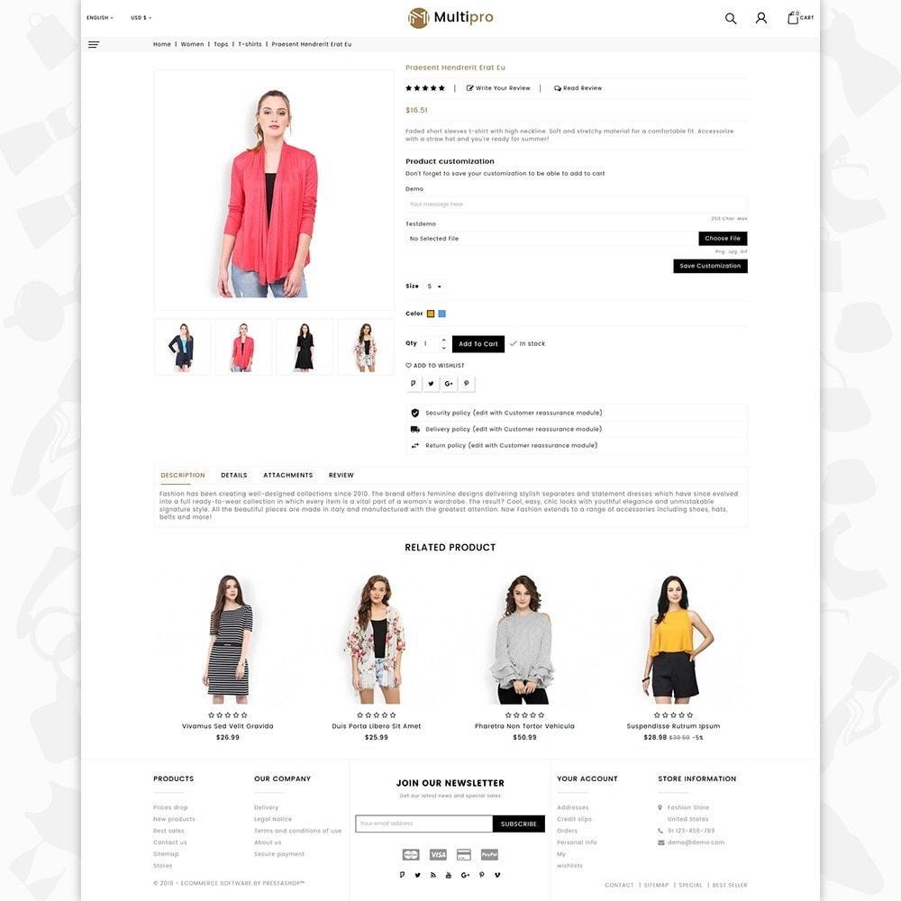 theme - Мода и обувь - Fashion MultiPro - 5