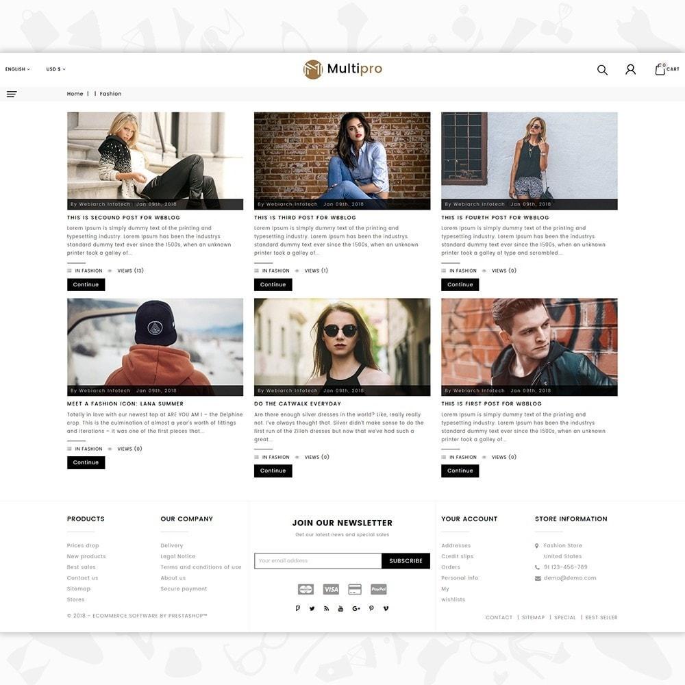theme - Мода и обувь - Fashion MultiPro - 6